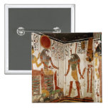 Nefertari is brought before the god pinback buttons