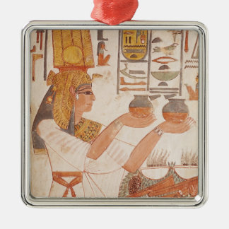 Nefertari Making an Offering Christmas Ornament