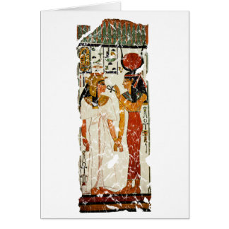 Nefertari with Isis Card