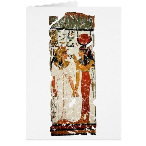 Nefertari with Isis Cards