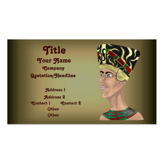 Nefertiti Bust Pack Of Standard Business Cards
