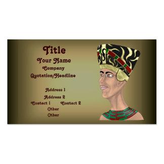 Nefertiti Bust Business Cards