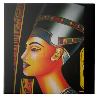 Nefertiti Egypt queen Tile