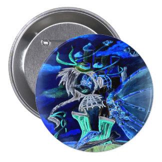 Nega Steam Punk Faery Pinback Buttons