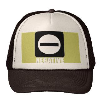 Negative 1 White Cap