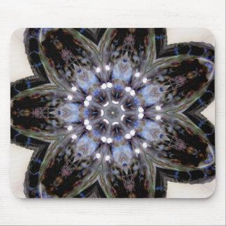 Negative Abalone Shell Jan 2013 Mouse Pad