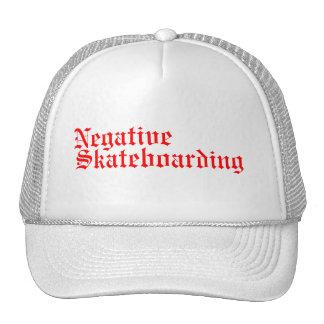 Negative, Skateboarding Cap