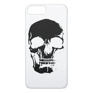 Negative Skull iPhone 7 Plus Case