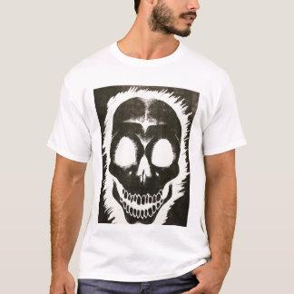 Negative Skull Print T-Shirt