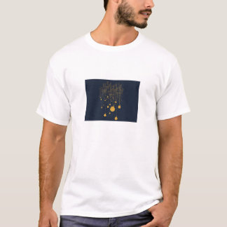 Negative space art design T-Shirt