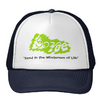 Negative space Lime Hat