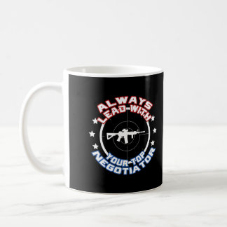 Negotiator Basic White Mug