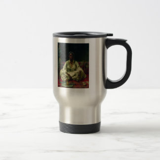 Negress by Ilya Repin 15 Oz Stainless Steel Travel Mug