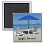 Negril, Jamaica Beach Magnet