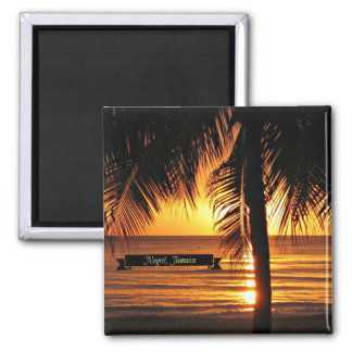Negril, Jamaica sunset Magnet