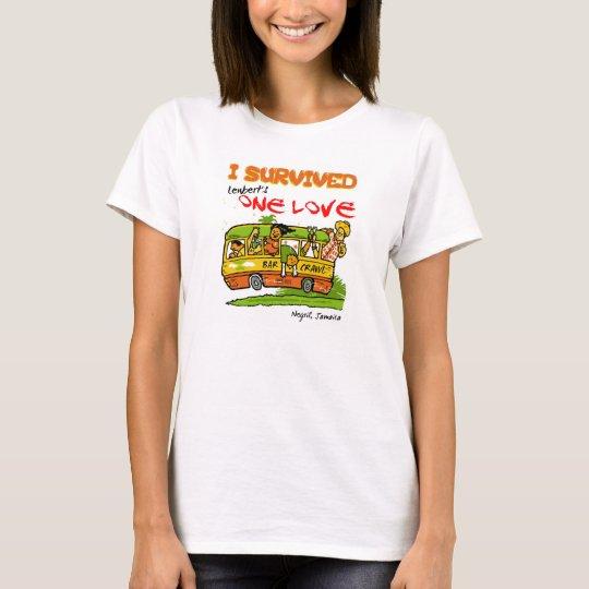 Negril One Love Bar Crawl Tee Womens