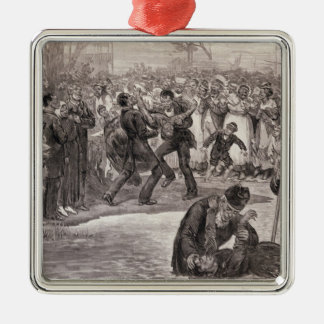 Negro Baptism in the United States Christmas Ornament