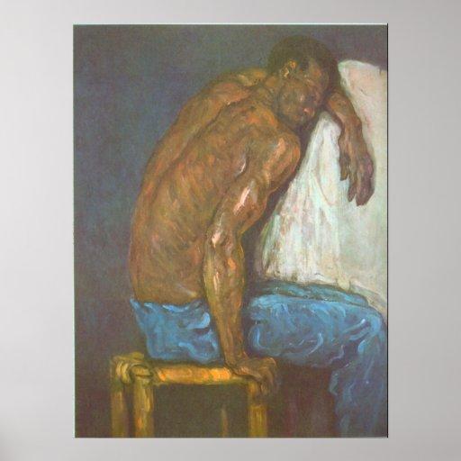 Negro by Paul Cezanne