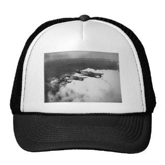Negro Pilots in Shark-Nosed P-40 Fighter Aircraft Hat