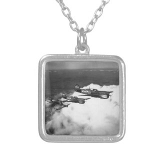 Negro Pilots in Shark-Nosed P-40 Fighter Aircraft Custom Jewelry