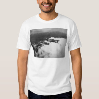 Negro Pilots in Shark-Nosed P-40 Fighter Aircraft T-shirts