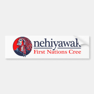 Nehiyawak (Cree) Bumper Sticker
