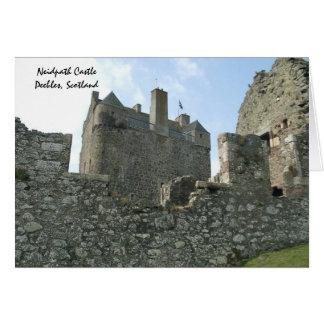 Neidpath Castle - Peebles, Scotland Greeting Card
