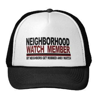 Neighborhood Watch Member Cap