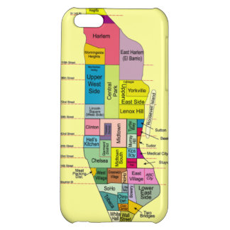 Neighborhoods of NYC Cover For iPhone 5C