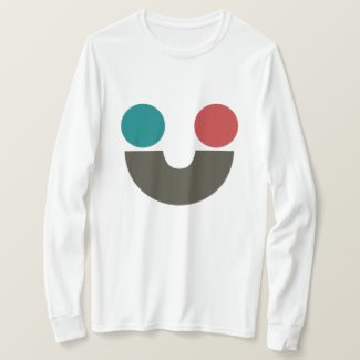 Neighbors / Basic Long Sleeve T-Shirt, White
