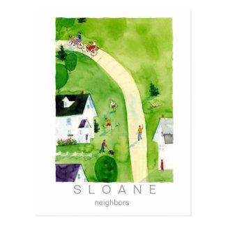 neighbors post cards