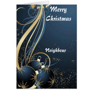 Neighbour Christmas cards