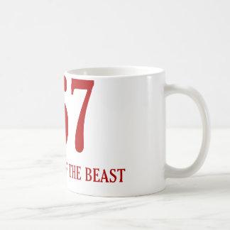 Neighbour Of The Beast Coffee Mug