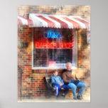 Neighbourhood Barber Shop Poster