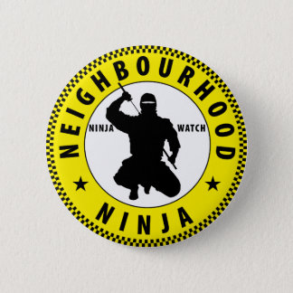 neighbourhood Ninja 6 Cm Round Badge