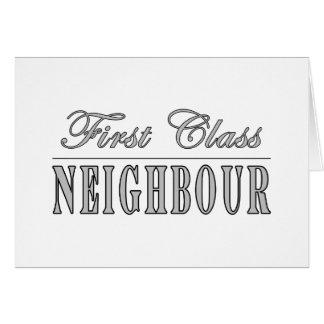 Neighbours First Class Neighbour Card
