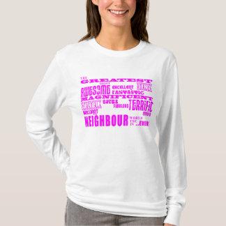 Neighbours : Pink Greatest Neighbour T-Shirt