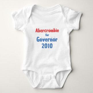 Neil Abercrombie for Governor 2010 Star Design Baby Bodysuit
