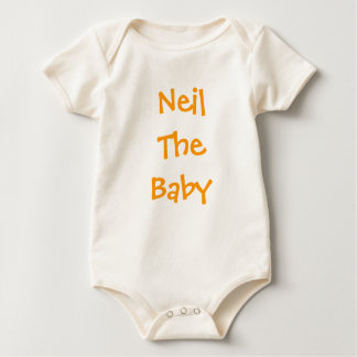 Neil The Baby Baby Bodysuit