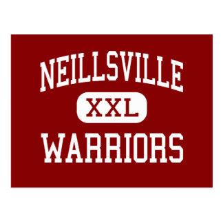 Neillsville - Warriors - High - Neillsville Postcard
