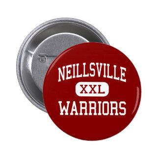 Neillsville - Warriors - Middle - Neillsville 6 Cm Round Badge