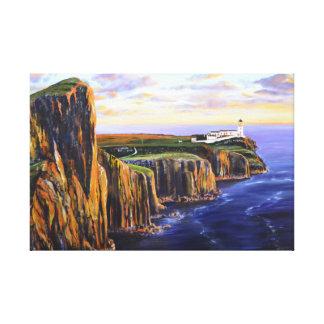 Neist Point - Isle of Skye Canvas Print