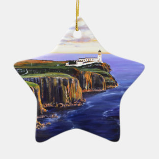 Neist Point - Isle of Skye Ceramic Star Decoration