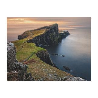 Neist Point, Isle of Skye, Scotland Canvas Print