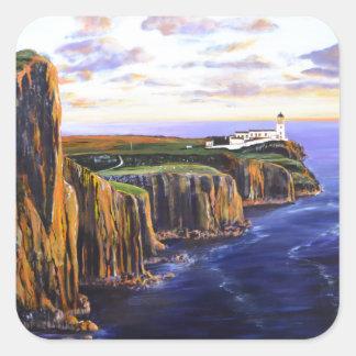Neist Point - Isle of Skye Square Sticker