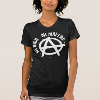 Neither god, nor Master T Shirt