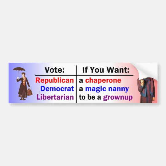 Neither Nanny nor Chaperone Bumper Sticker
