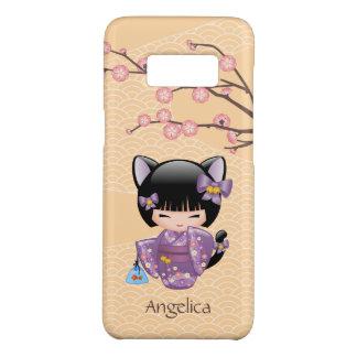 Neko Kokeshi Doll - Cat Ears Geisha Girl Case-Mate Samsung Galaxy S8 Case