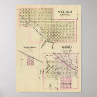 Nelighand Oakdale Nebraska Poster