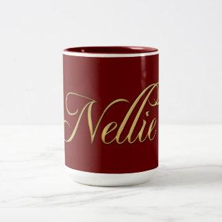 NELLIE Name-Branded Gift Drinking Mug